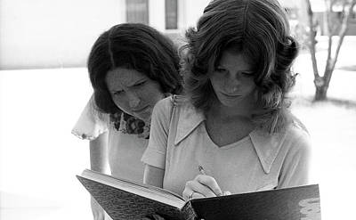 Photograph - Yearbook Signing, 1972, Part 1 by Jeremy Butler