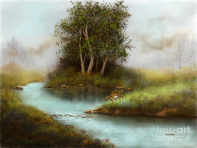 Painting - Yearling by Sena Wilson