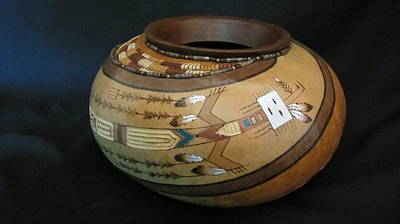 Pyrography - Yei by Barbara Prestridge
