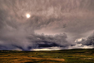 Yellostone Sky Art Print by Patrick  Flynn