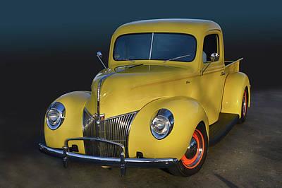 Photograph - Yellow 39 Pickup by Bill Dutting
