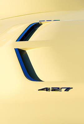 Photograph - Yellow 427 Vette by Rospotte Photography