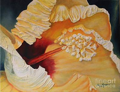 Painting - Yellow Aloha Flower by Terri Thompson