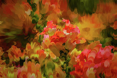 Digital Art - Yellow And Orange #h6 by Leif Sohlman