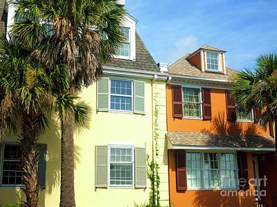 Photograph - Yellow And Orange In Charleston by John Rizzuto