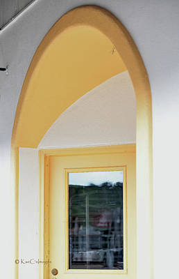 Photograph - Yellow Arch And Door by Kae Cheatham