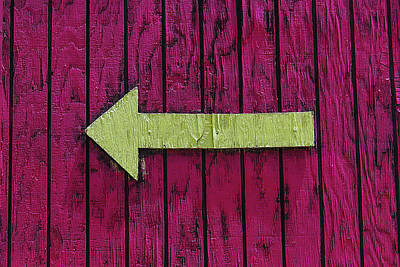 Photograph - Yellow Arrow by Garry Gay