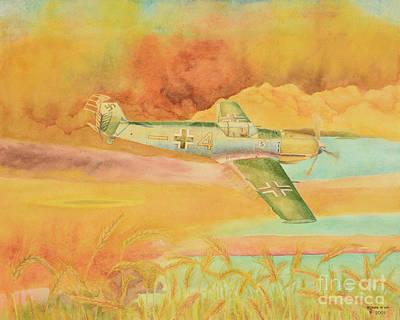 Painting - Yellow August by Oleg Konin