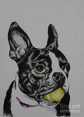 Yellow Ball  Print by Susan Herber