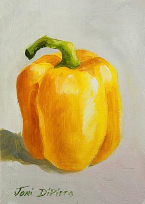 Yellow Bell Pepper Art Print by Joni Dipirro