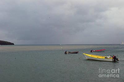 Photograph - Yellow Boat by Gary Wonning