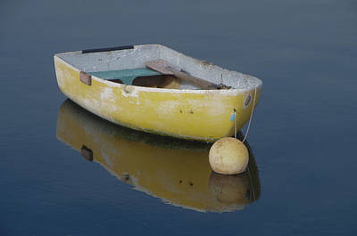Photograph - Yellow Rowboat by Marilyn Wilson