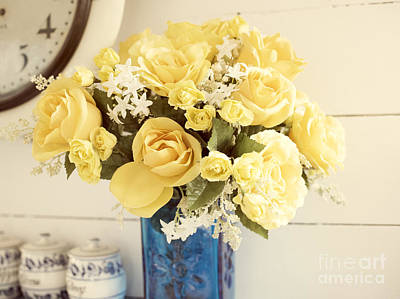 Photograph - Yellow Bouquet Of Flowers by Juli Scalzi