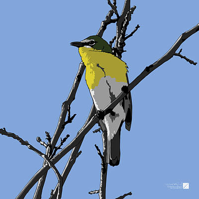 Digital Art - Yellow-breasted Chat by Marcus England