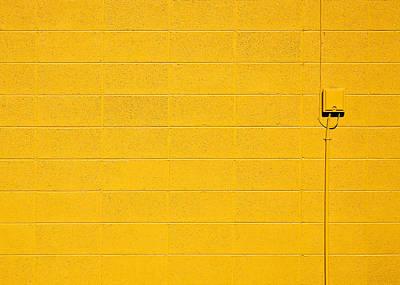 Photograph - Yellow Brick Wall by Todd Klassy