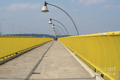 Photograph - Yellow Bridge by Juli Scalzi
