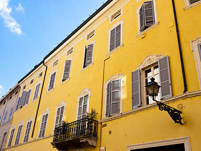Book Quotes - Yellow Buildings of Parma by Rae Tucker