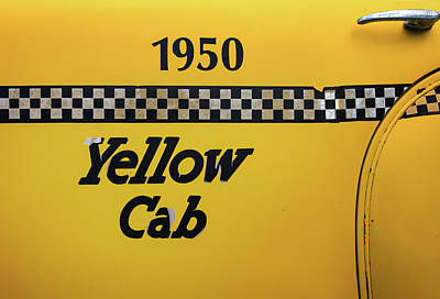 Photograph - Yellow Cab by Bud Simpson