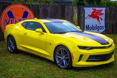 Bumblebee Photograph - Yellow Camaro by Garry Gay