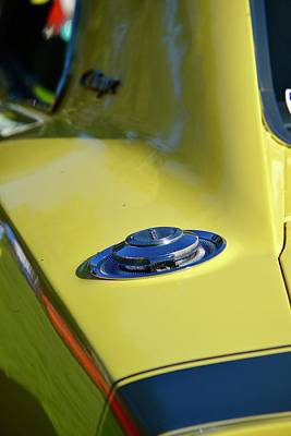 Photograph - Yellow Charger Detail by Dean Ferreira