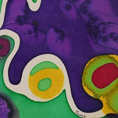 Painting - Yellow Circle by Barbara Pease
