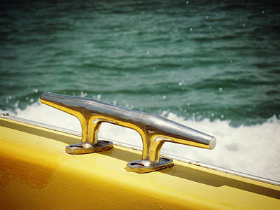 Photograph - Yellow Cleat by Valerie Reeves