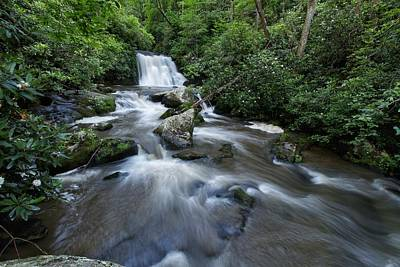 Photograph - Yellow Creek Falls by Chris Berrier