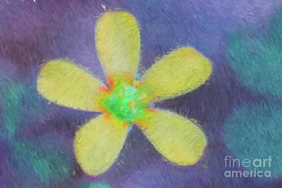 Digital Art - Yellow by Cristian Ferronato