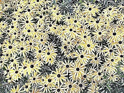 Photograph - Yellow Daisies by David Pantuso