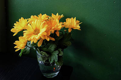 Photograph - Yellow Daisies by Keith Boone