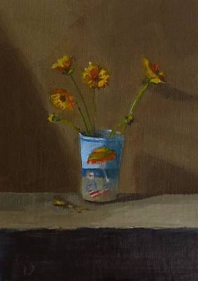 Painting - Yellow Daisys by Grace Diehl