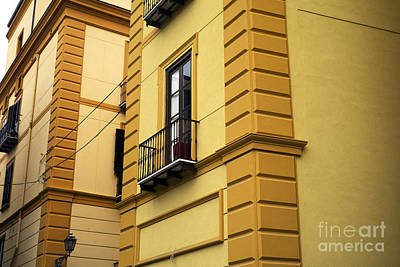 Photograph - Yellow Design In Sorrento by John Rizzuto
