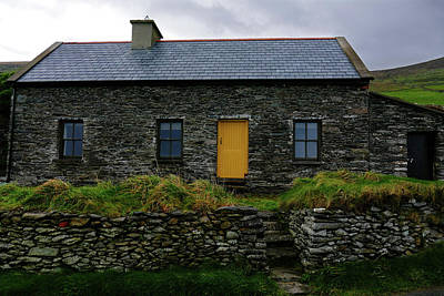 Photograph - Yellow Door In Dingle by Bill Jordan