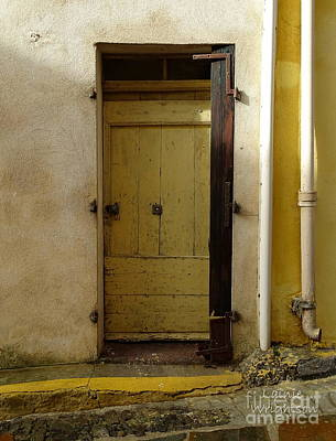 Photograph - Yellow Door by Lainie Wrightson