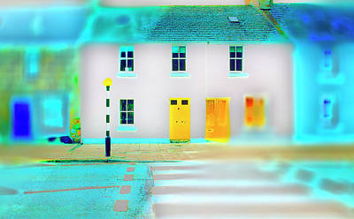 Photograph - Yellow Doors II by Jan W Faul