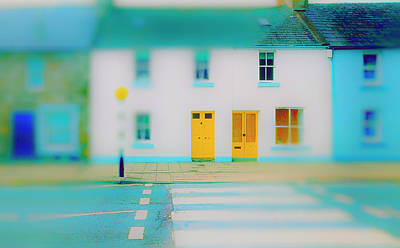 Photograph - Yellow Doors by Jan W Faul