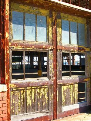 Yellow Doors Of The Past Art Print