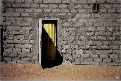 Photograph - Yellow Doorway by Wayne King