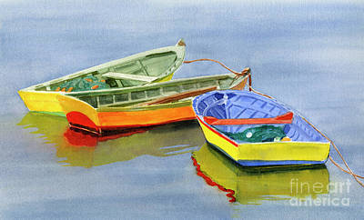 Yellow Dories Art Print