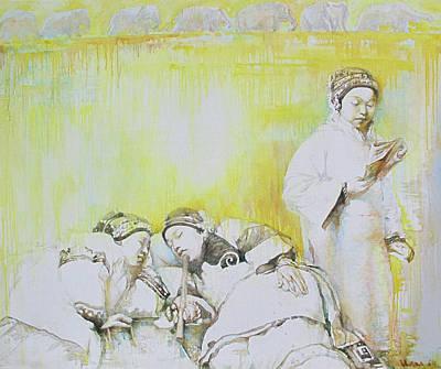 Yellow Dream Art Print by Tanya Ilyakhova