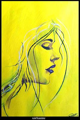 Painting - Yellow Dream by Trinath Sen