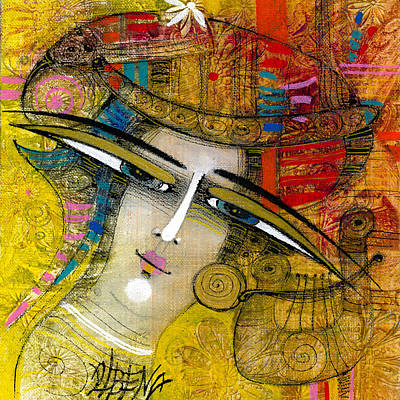 Painting - Yellow Dreams by Albena Vatcheva