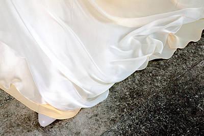 Photograph - Yellow Dress #9936 by Andrey Godyaykin