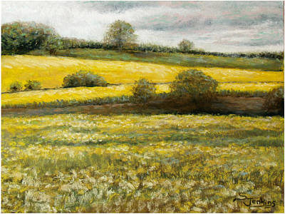 Painting - Yellow Fields by Susan Jenkins