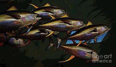 Photograph - Yellow Fin Tuna by Craig Wood