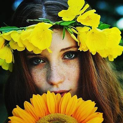Pop Art Photograph - #yellow #flowers #wcw #love by Sushiiallday Babes