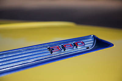 Photograph - Yellow Ford  by Steve Gravano