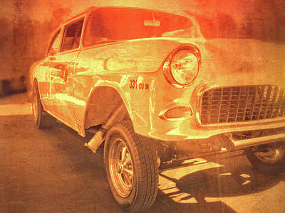 Photograph - Yellow Gasser by David King