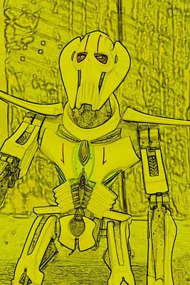 General Grievous Photograph - Yellow Grievous by Judy Bernier