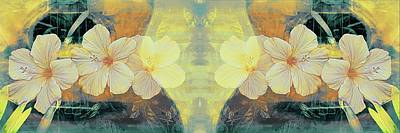 Photograph - Yellow Hibiscus Melodies by Alice Gipson